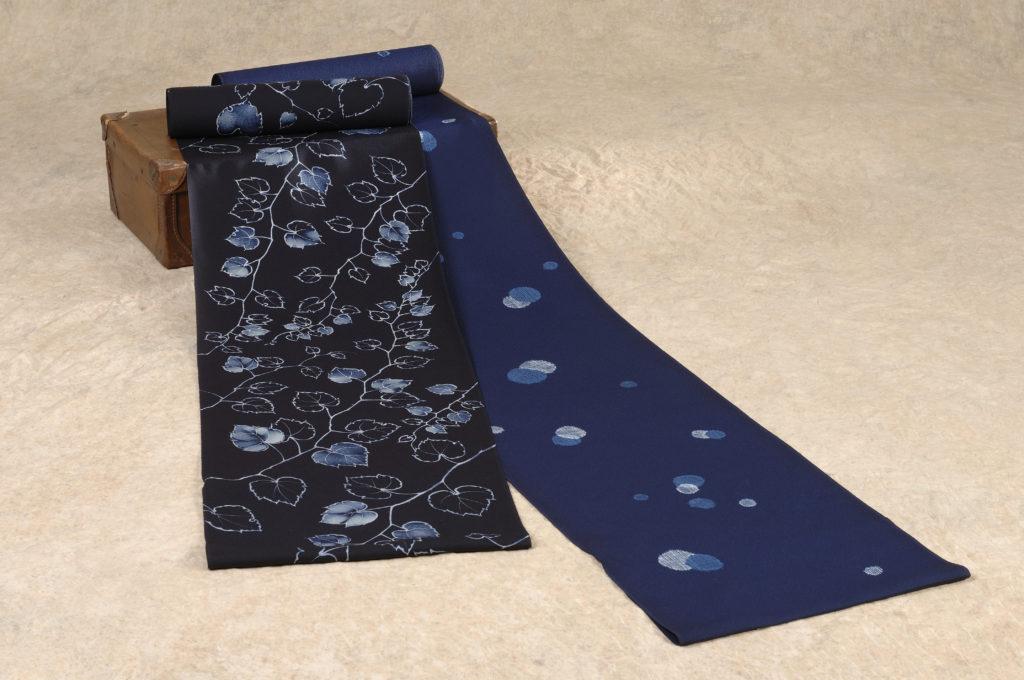 藍染の着物